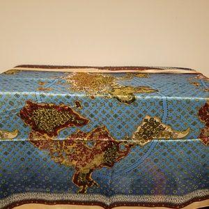 New Large Silk Louis Vuitton wrap/scarf.